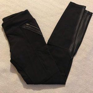 Athleta black pants girls 12 Large